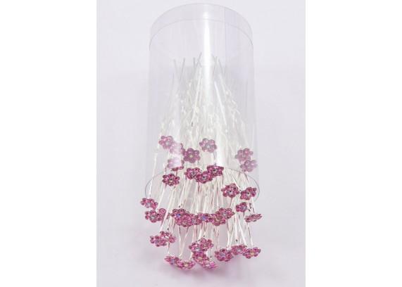 Шпилька цветок к002-1