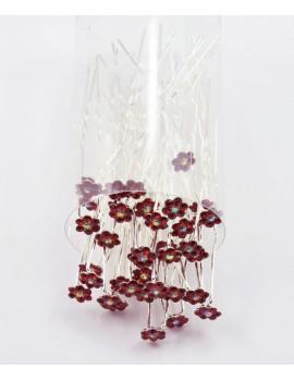 Шпилька цветок к002-4