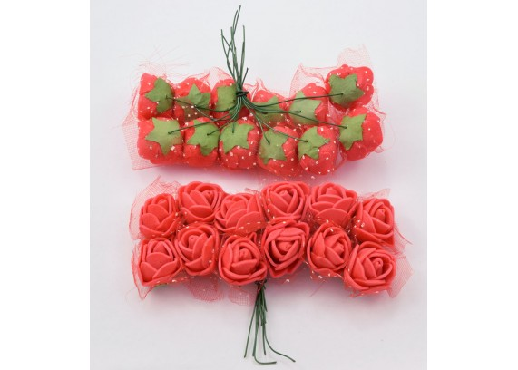 Цветок розочка к136