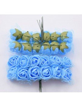 Цветок розочка к138
