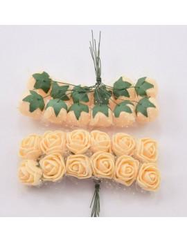 Цветок розочка к141
