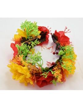 Обруч цветок А680